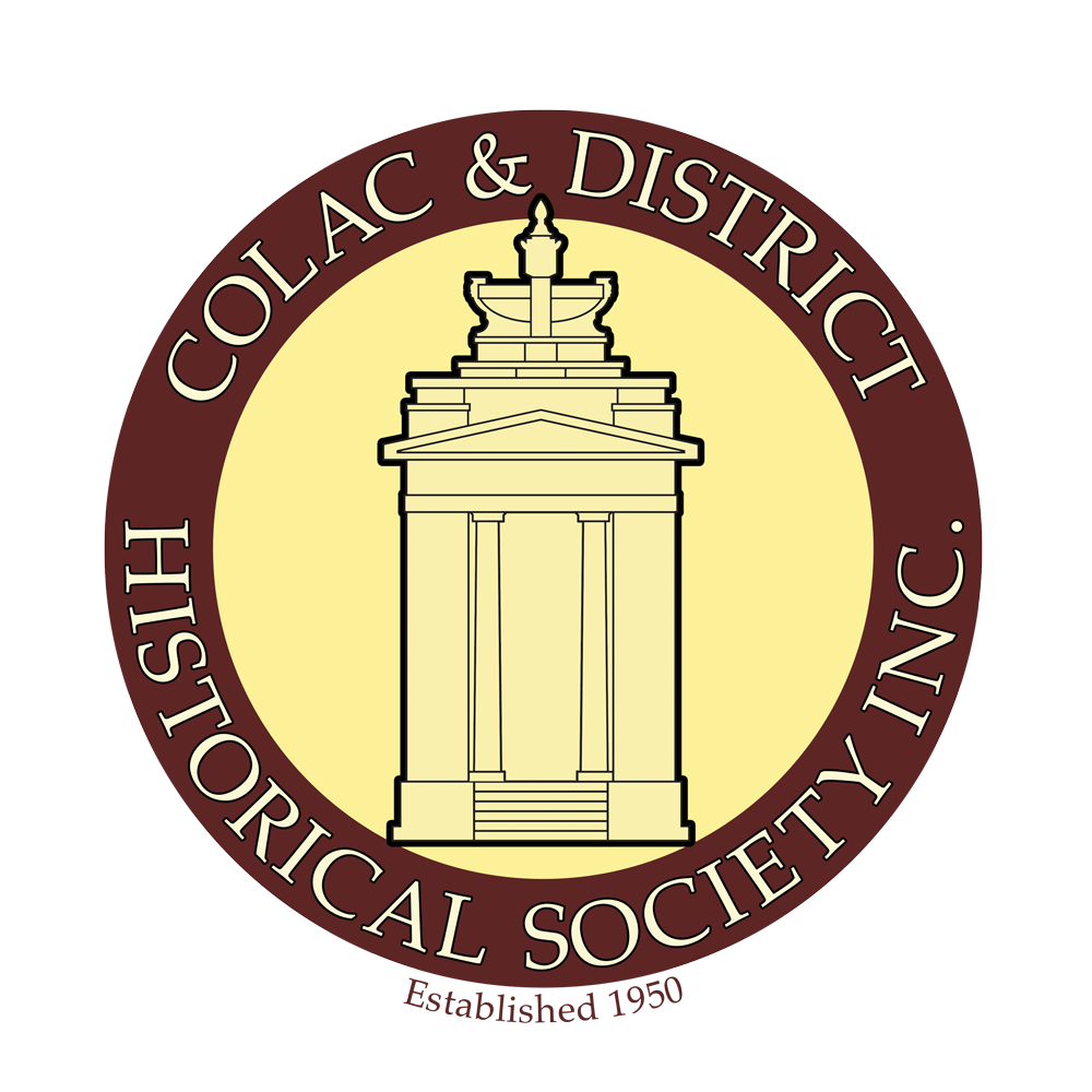 Colac & District Historical Society Logo