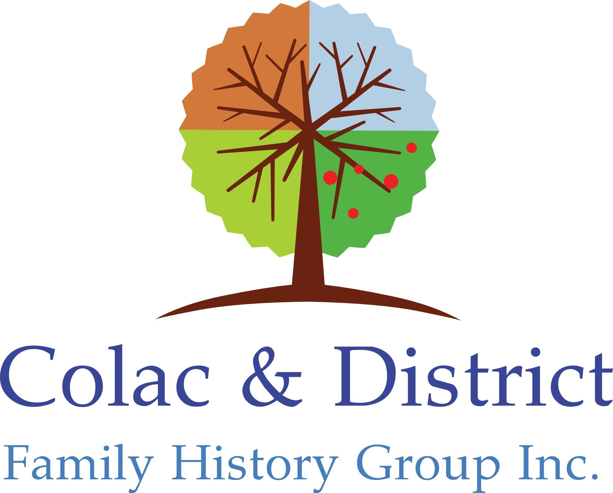 Colac & District Family History Group Logo