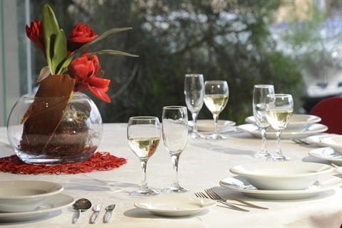 COPACC table setting
